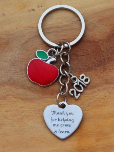 THANK YOU GIFT FOR  TEACHER Teaching assistant 101 Nursery teacher Keyring