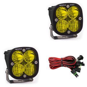 Baja Design Squadron Sport Pair Amber LED Driving/Combo & Mount Bracket # 557813
