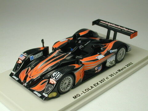Spark 1 43  MG Lola EX257 Knight Hawkins Le Mans 24h 2002 from Japan