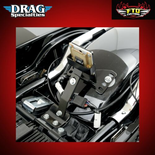 Drag Specialties Large Touring Seats Receiving Device//Backrest Mount 0822-0163