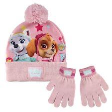 Kinder Winter Set 2 tlg. Mütze Handschuhe * Paw Patrol Skye