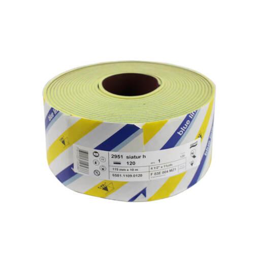 SIA SR2951 4-1//2 in x 11 yds 120-Grit Siasoft Abrasive Sandpaper Foam Roll