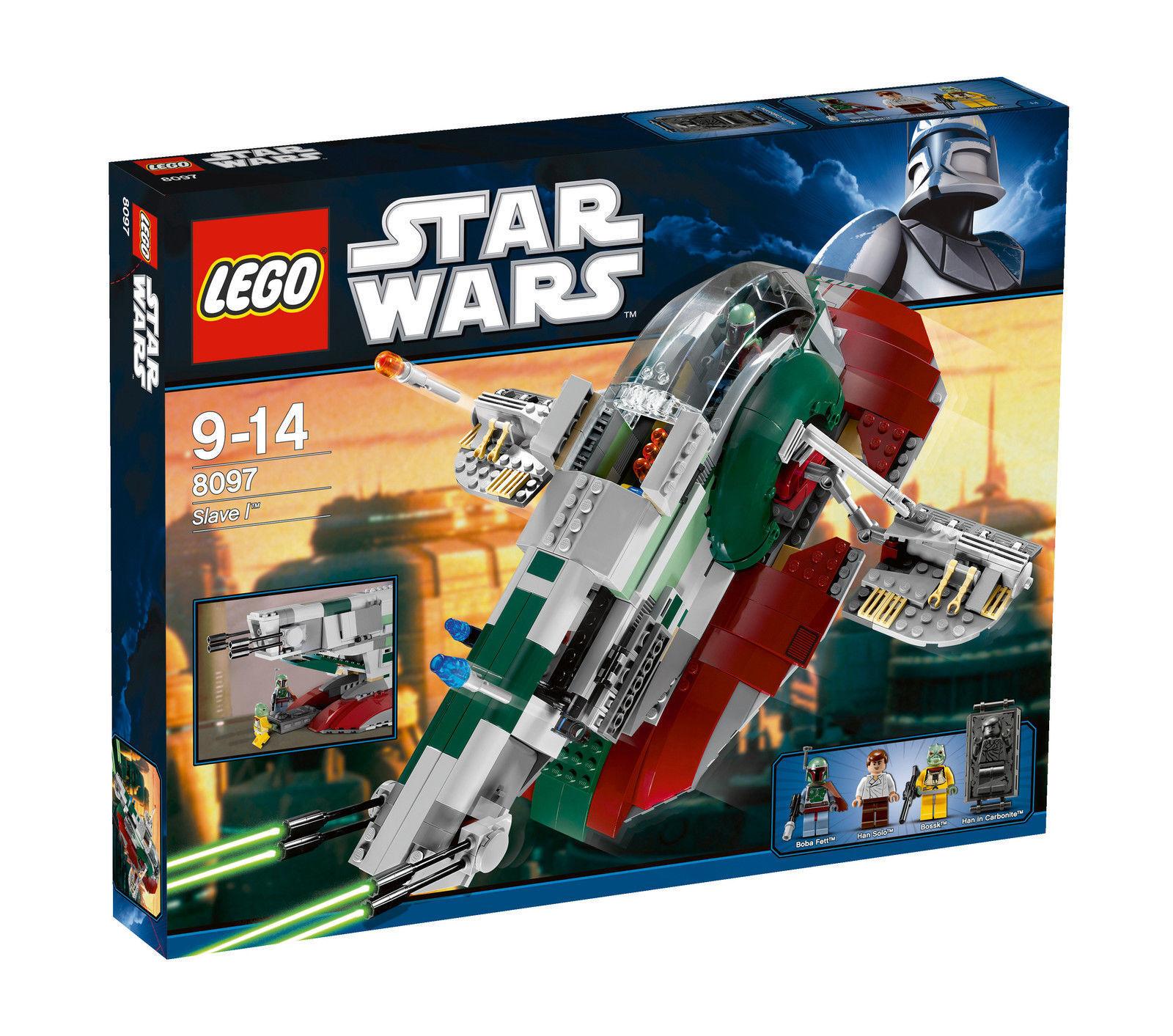 LEGO® STAR WARS™ 8097 Boba Fett Slave I - NEU & OVP -
