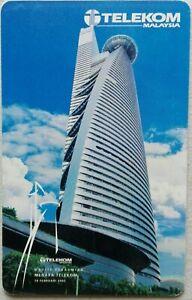 Malaysia-Used-Telekom-Phone-Card-Menara-Telekom