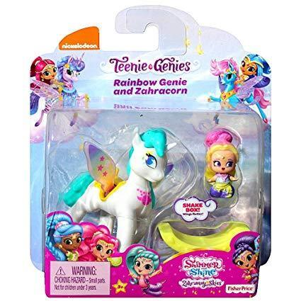 Brand New Shimmer And Shine Teenie Genies Shimmer Shine Rainbow and Leah Genie
