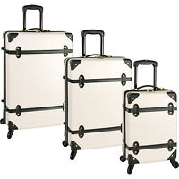Diane Von Furstenberg Saluti 3-Piece Hardside Spinner Luggage Set
