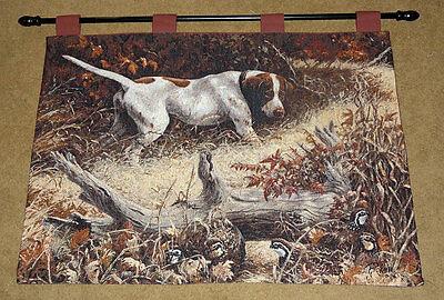 Linda Picken Bulldog Tapestry Bannerette Wall Hanging ~ Artist