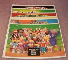 Garbage Pail Kids 5X7 Giant Stickers  2nd Series Topps G.P.K.  GPK   FULL SET