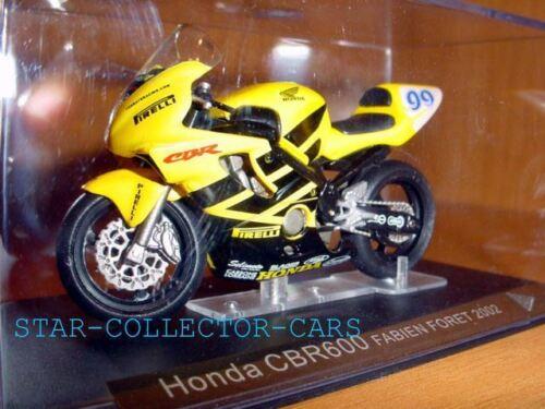 HONDA CBR600 CBR 600 FS FABIEN FORET 2002 #99 1//24 MINT