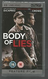 BODY-OF-LIES-sealed-new-UK-PSP-UMD-VIDEO-DiCaprio-Crowe