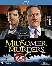 Midsomer Murders: Series 16 (Blu-ray Disc, 2015)