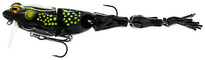 New Westin Freddy the Frog Musky Lure 1 5//8 oz White Frog 112-353-134
