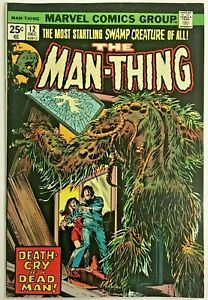 MAN-THING-12-FN-VF-1974-MARVEL-BRONZE-AGE-COMICS
