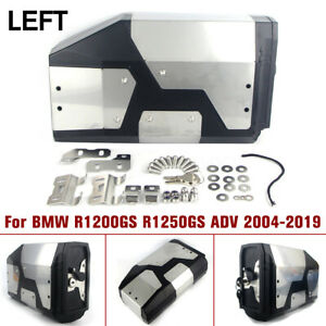 4-2L-Stainless-Decor-Tool-Box-For-BMW-R1200GS-R1250GS-ADV-04-19-Left-Bracket