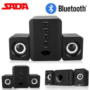 Mini-Computer-Speaker-2-1-USB-Bluetooth-Desktop-PC-Laptop-Subwoofer-Audio-System
