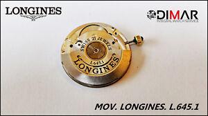 Movement Longines L.645.1 - Diametro. Of Esfera. 29mm. REF.12890