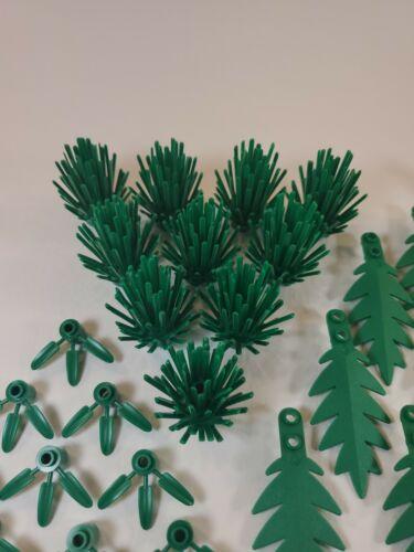 Lego Tree Shrub Leaf Branch 50 Piece Lot