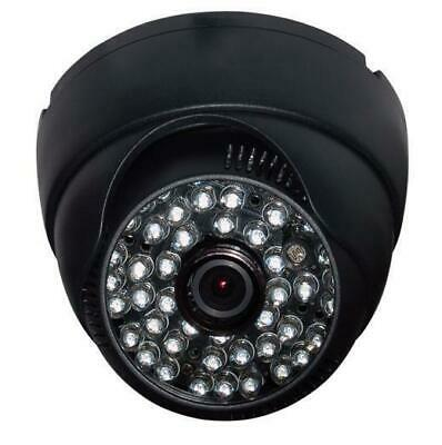 "Sunvision 600TVL Indoor 1//4"" CMOS Spiral Dome Camera 4.0mm Lens 48 IR LEDs 38"