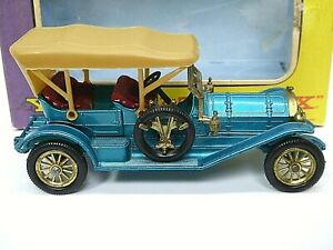 Matchbox-antano-Y12-2-1909-Thomas-Flyabout-rara-placa-base-texto-invertido