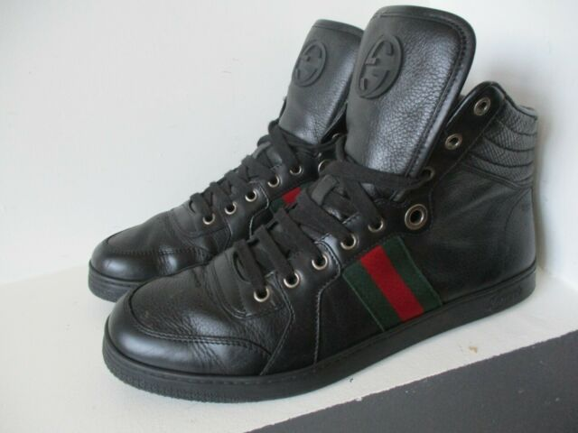 Gucci Major Leather High Top Sneaker GG