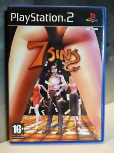 PS2 7 Sins - Playstation game CIB