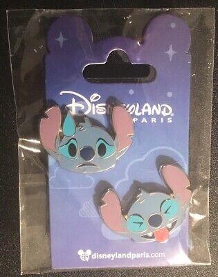 Alice /& White Rabbit Emoji Set Disney Land Paris Dlrp Dlp 2017 June New 2 Pins