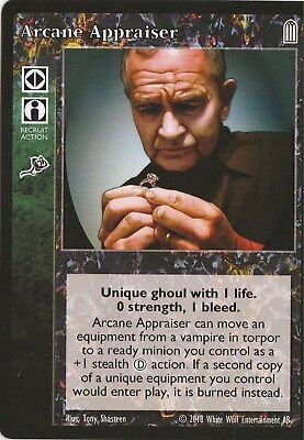 Arcane Appraiser x1 Keepers of Tradition Reprint 2 KoT R2 VTES Jyhad