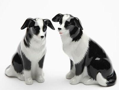 ➸ LITTLE CRITTERZ Dog Miniature Figurine Border Collie Hemp