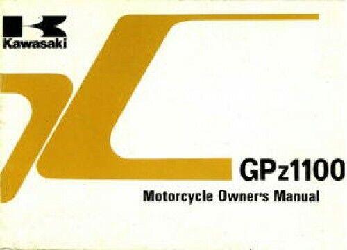 Workshop Manual Kawasaki Z1 Z1a Z900 Z1000 Z1000r Gpz1100