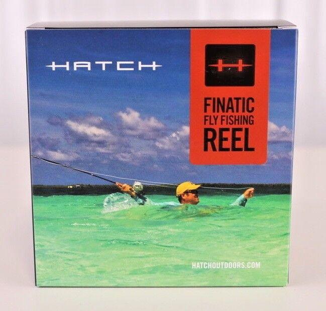 Hatch Blauwater Gen Größe 2 Finatic Größe Gen 7 Plus Large Arbor Custom Shop Reel c02e8e