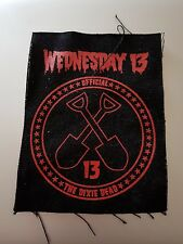 wednesday 13 dixie dead cloth patch new unused