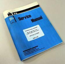 INTERNATIONAL FARMALL 460 560 TRACTOR GAS ENGINE SERVICE REPAIR MANUAL IH LPG LP