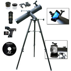 Galileo SS-80080TR - 800mm x 80mm Reflecting Telescope with Smartphone Adapter