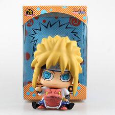 naruto minato pvc figure saving box piggy bank collection doll anime figures new