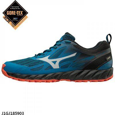 9e4dd336c Mizuno Wave IBUKI G-TX Blue Black Red Men Gore-Tex Running Shoes J1GJ185903    eBay