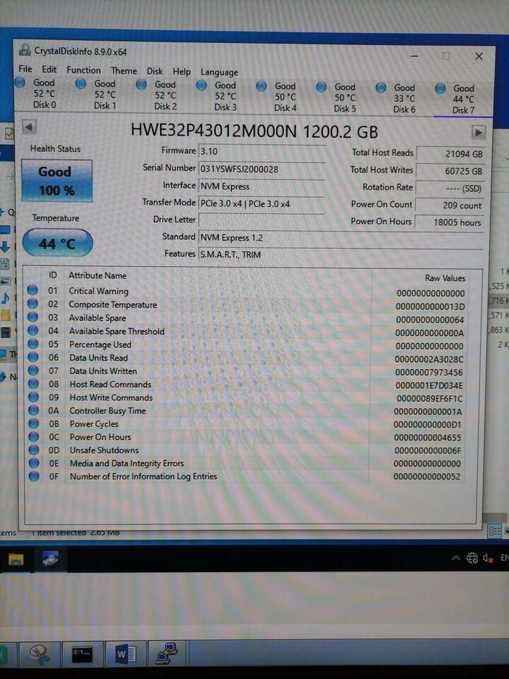 Huawei, 1200 GB, Perfekt