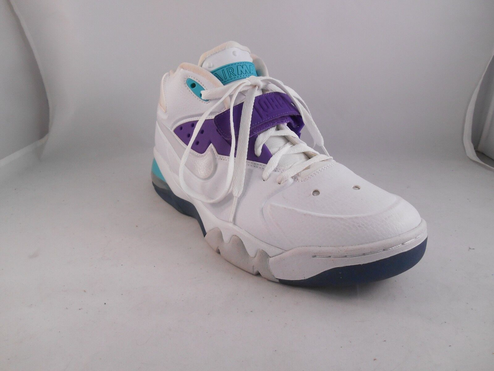 Nike air force max 2013 scarpe da basket 555105-101 uomini sz m / ue