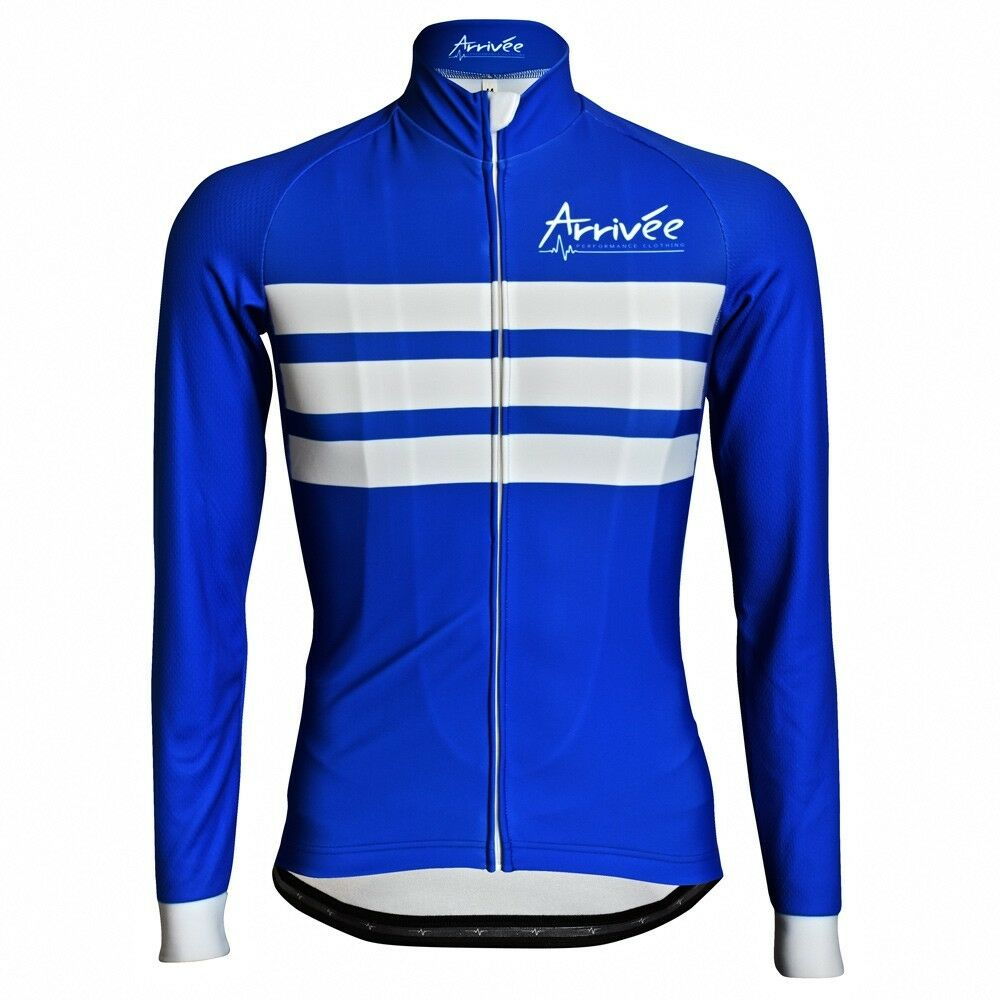 Arrivee Men's National Winter Long Sleeve Royal bluee Jersey. Various  Sizes. BNWT  great selection & quick delivery