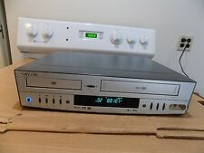 Go Video DVD Player VHS Recorder Works Great W/ Remote Model DVR4250 Sonic Blue