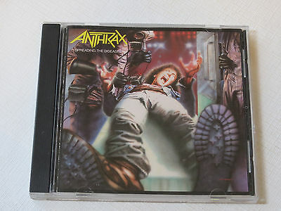 Anthrax Spreading the Disease 1985 CD Island Records Lone Justice Madhouse