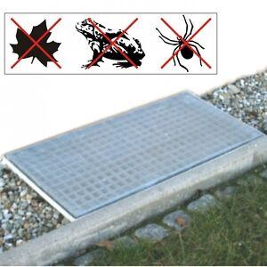 Lichtschacht-Abdeckung-Netz-120x60cm-Aluminium-Gitter-Lichtschachtnetz-Schutz