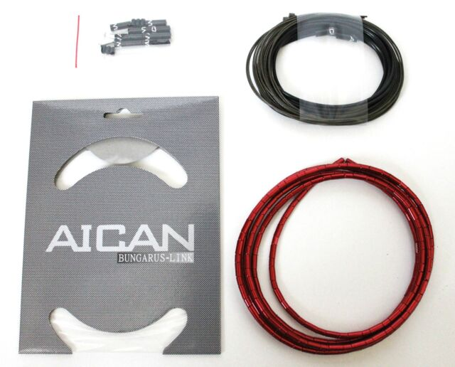 Gray I-Link AICAN Superlight Bungarus BRAKE Cable Housing set kit Nokon