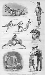 YALE-FOOTBALL-TEAM-BY-FREDERIC-REMINGTON-COACH-TACKLE
