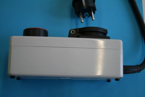 230V Drehzahlregler Gefi Gefitron 2400W Elektromotor Motore mit Kohlebürsten