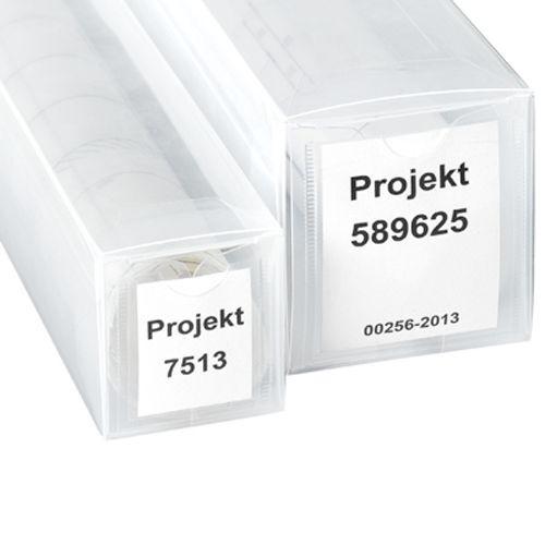 Poster Köcher PP-Hülse transparent ausziehbar Zeichnungshülse Transportrolle