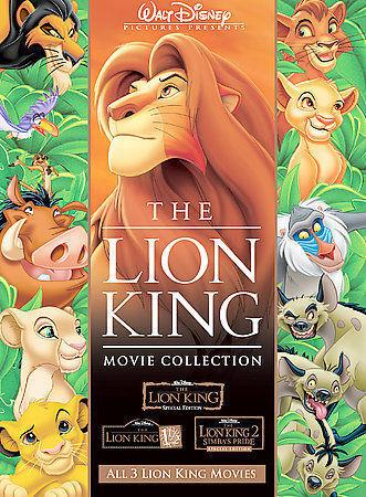 The Lion King Trilogy Dvd 2004 6 Disc Set For Sale Online Ebay