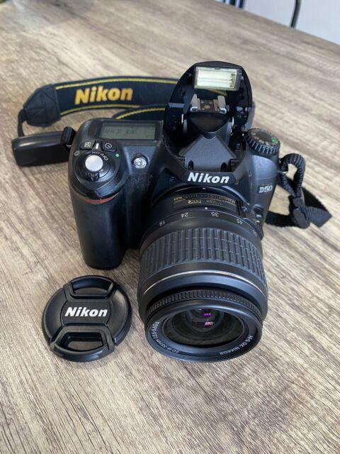 Nikon D50 Digital SLR Camera - Black (Kit with AF-S VR 18-55mm Lens)