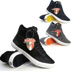 Mens-Hi-Tops-Trainers-LAMBRETTA-Pumps-Quilted-Basketball-Ankle-Boots-Shoes-Size