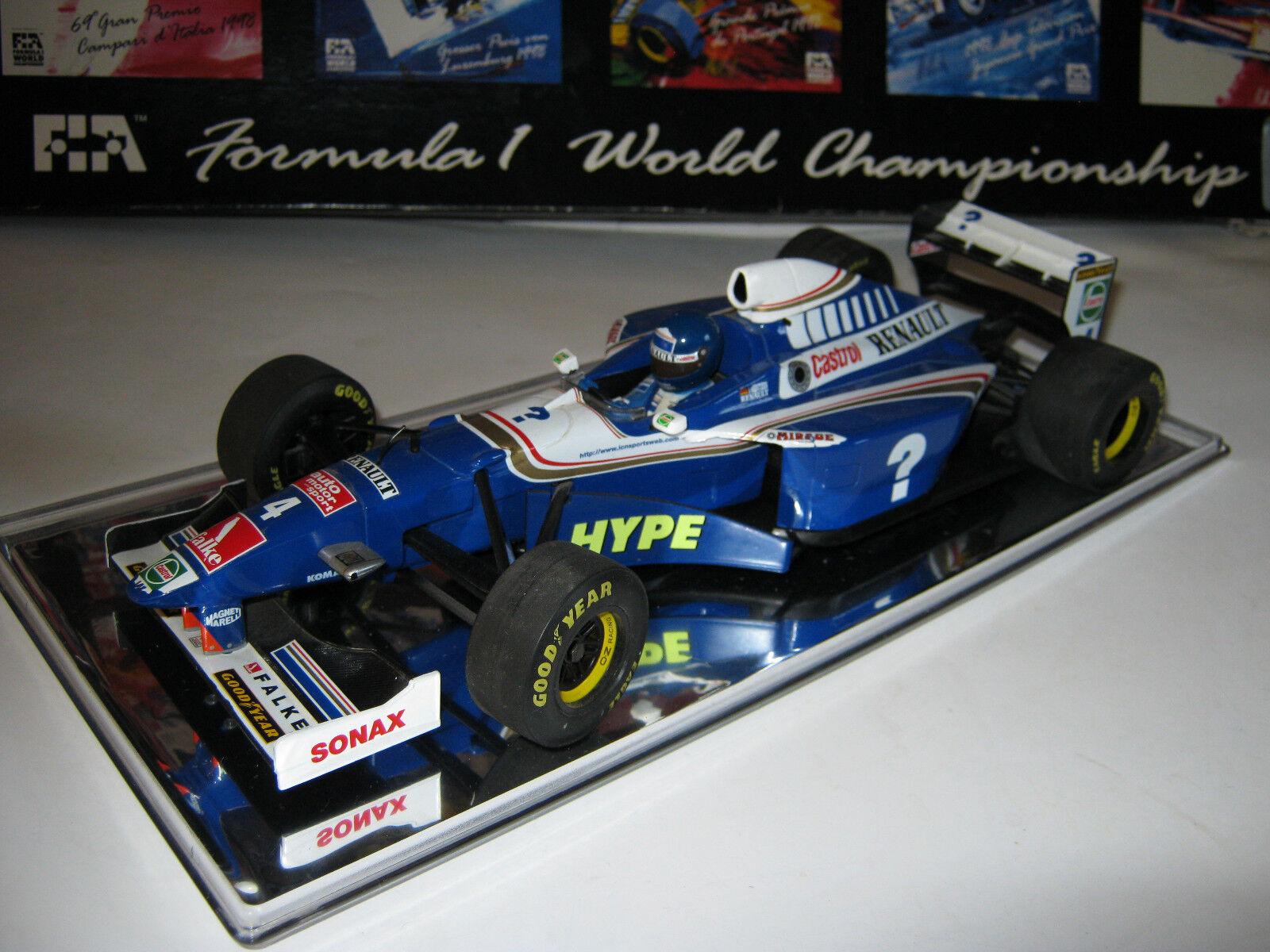 1:18 Williams fw19 German driver H.H. Frentzen 1997 Minichamps in Showcase Top