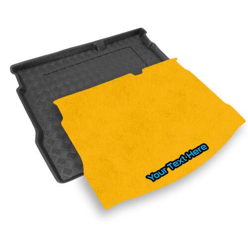 RENAULT MEGANE HB 2015 insertion personnalisée V Tailored PVC Boot Liner
